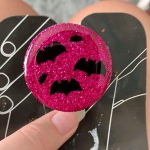 Halloween Glitter Popsocket
